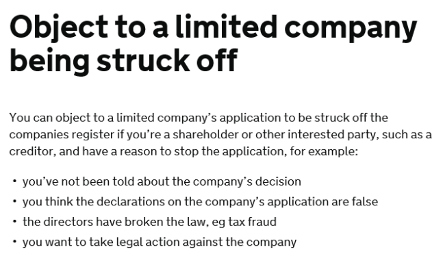 The Ltd Company behind StratxMarkets has filed to be Struck Off